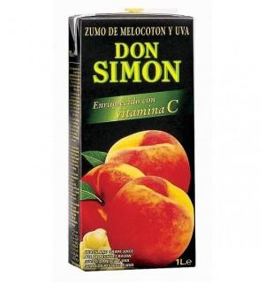 ZUMO D.SIMON MELOCOTON-UVA BK. 1 L