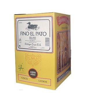 VINO FINO EL PATO BAG 5 L