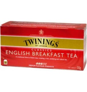 TE TWININGS ENGLISH BREAKF.E.25S