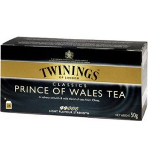 TE TWININGS PRINCE OF WALES 25 S