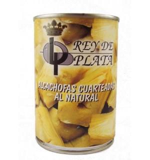 ALCACHOFAS REY PLATA TROZOS LT. 390 GR