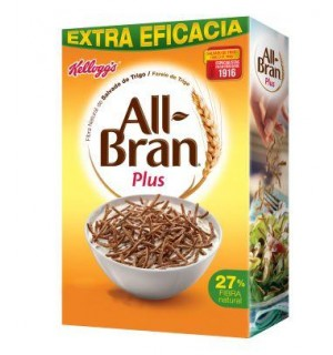 KELLOGG'S ALL-BRAN PLUS 750 GR