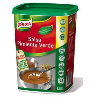 SALSA KNORR PIMIENTA VERDE 660 GR