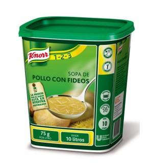 SOPA KNORR POLLO C/FIDEOS 750 GR