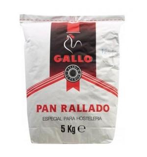 PAN RALLADO GALLO SACO 5 KG