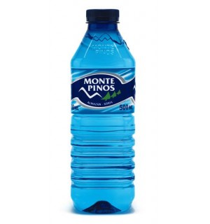AGUA MIN. MONTE PINOS PET 50 CL