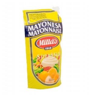 MAYONESA MILLAS BOLSA DOSIF. 1 L