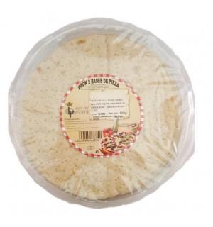 PIZZA REY PLATA BASES PK-2 500 GR