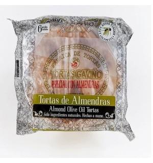 TORTAS A.GAVIÑO ALMENDRAS 6 UN. 180 GR