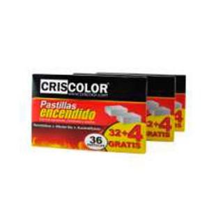 PASTILLAS ENCENDIDO CRISCOLOR 32+4 UN